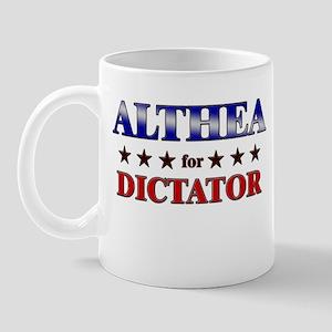 ALTHEA for dictator Mug