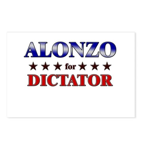 ALONZO for dictator Postcards (Package of 8)