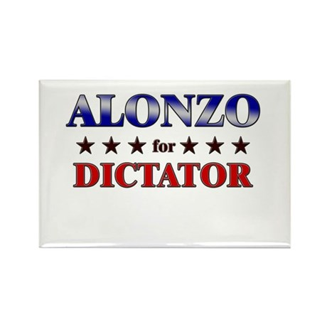 ALONZO for dictator Rectangle Magnet (10 pack)