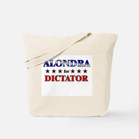 ALONDRA for dictator Tote Bag