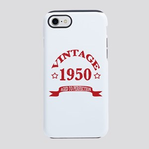 Vintage 1950 Aged To Perfect iPhone 8/7 Tough Case
