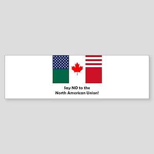 Say No to the NAU Bumper Sticker