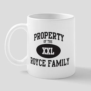 Property of Royce Family Mug