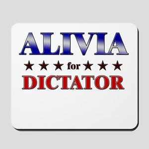 ALIVIA for dictator Mousepad