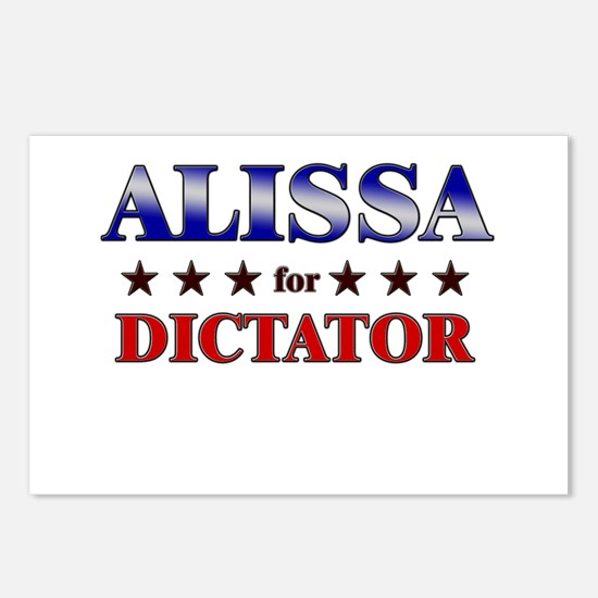 ALISSA for dictator Postcards (Package of 8)
