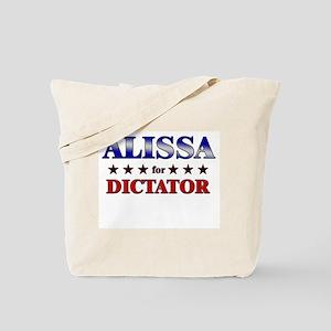 ALISSA for dictator Tote Bag