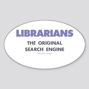 Librarians Oval Sticker
