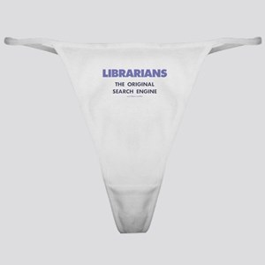 Librarians Classic Thong
