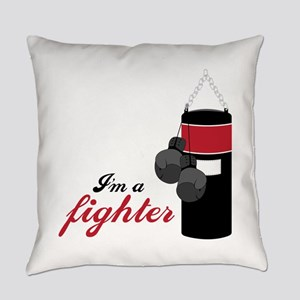 Boxing Fighter Everyday Pillow