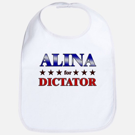 ALINA for dictator Bib