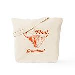 I Love Moo! Highland Cow Tote Bag