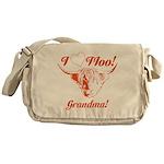I Love Moo! Highland Cow Messenger Bag