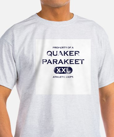 Property of Quaker Parakeet T-Shirt