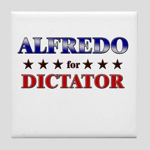 ALFREDO for dictator Tile Coaster