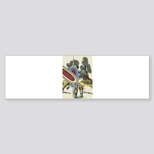 Knights 5 Store Bumper Sticker