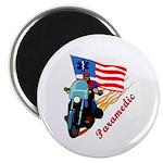 Paramedic Biker Magnet