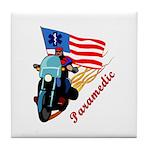 Paramedic Biker Tile Coaster