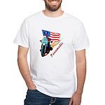 Paramedic Biker White T-Shirt