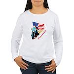 Paramedic Biker Women's Long Sleeve T-Shirt