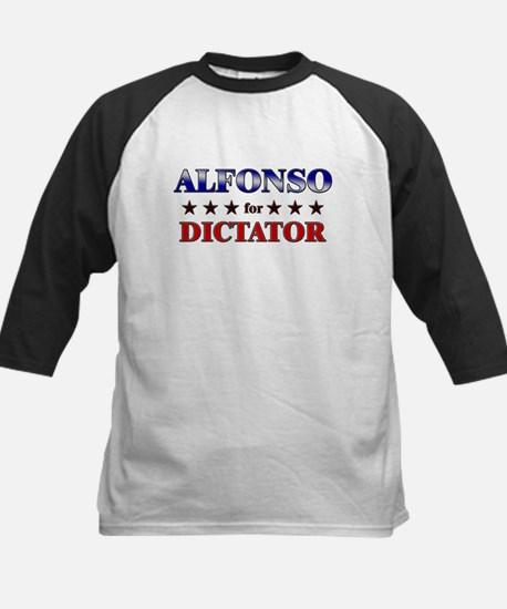 ALFONSO for dictator Kids Baseball Jersey