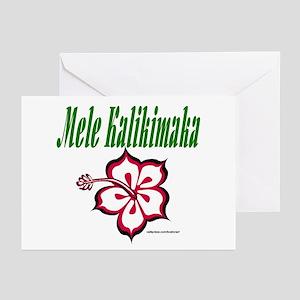 Hawaiian Merry Christmas Greeting Cards (Pk of 20)