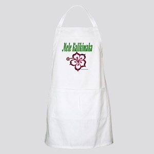 Hawaiian Merry Christmas BBQ Apron