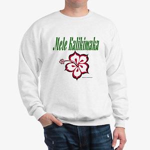 Hawaiian Merry Christmas Sweatshirt