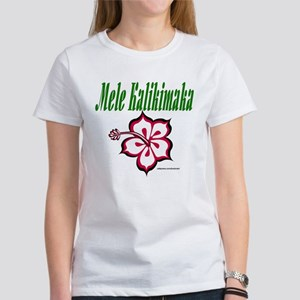 Hawaiian Merry Christmas Women's T-Shirt