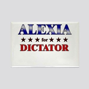 ALEXIA for dictator Rectangle Magnet