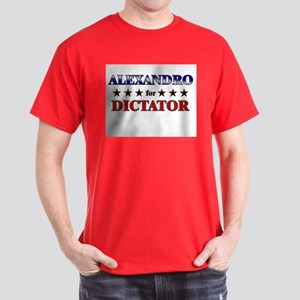 ALEXANDRO for dictator Dark T-Shirt