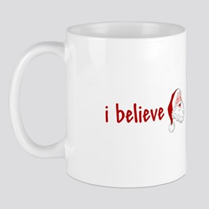 I Believe In Santa Christmas Mug
