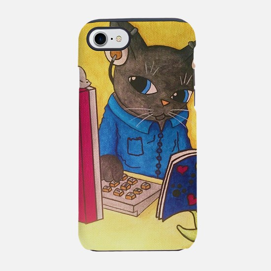 Maine Coon Writer Cat 2 iPhone 8/7 Tough Case