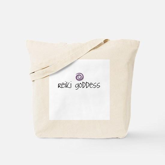 Reiki Goddess Tote Bag