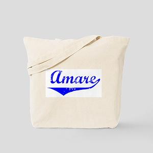 Amare Vintage (Blue) Tote Bag