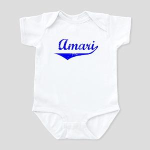 Amari Vintage (Blue) Infant Bodysuit
