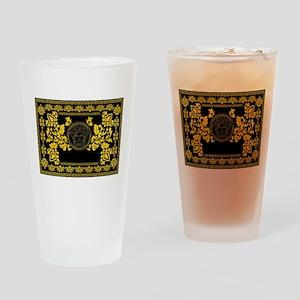 Gold Medusa Drinking Glass
