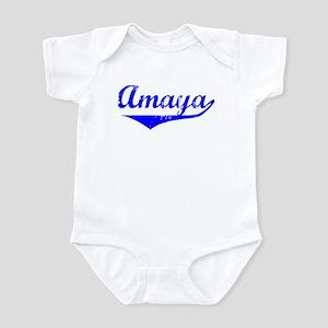 Amaya Vintage (Blue) Infant Bodysuit
