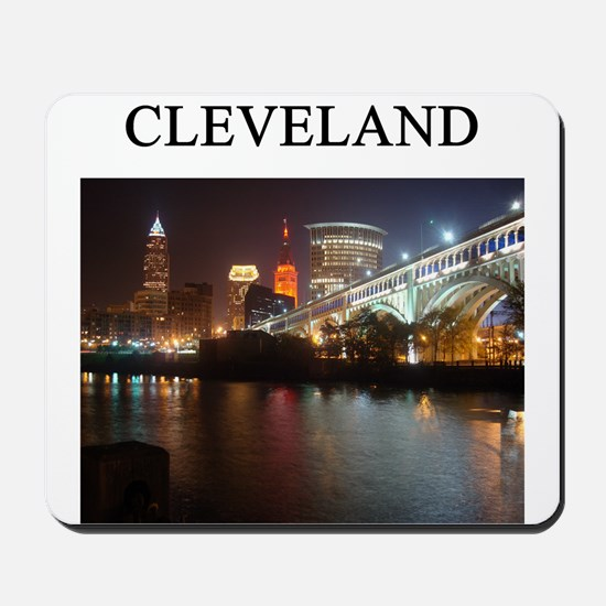 cleveland gifts t-shirts pres Mousepad