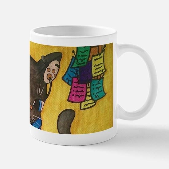 Maine Coon Writer Cat 2 Mugs