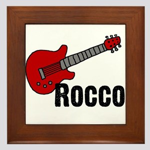 Guitar - Rocco Framed Tile