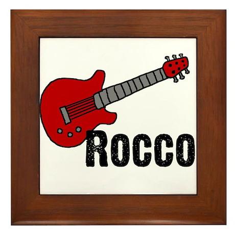 Guitar - Rocco Framed Tile