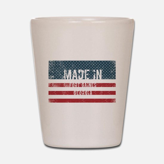 Made in Fort Gaines, Georgia Shot Glass