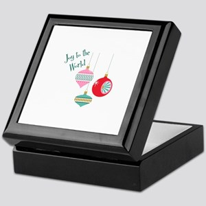 Joy To World Keepsake Box