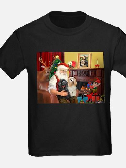 Santa's 2 Cockers T