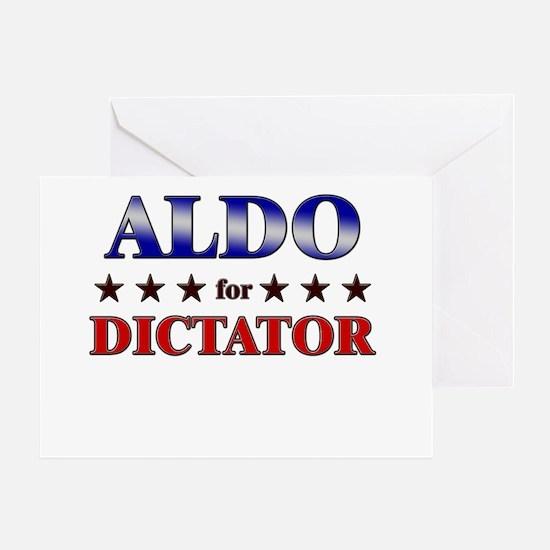 ALDO for dictator Greeting Card