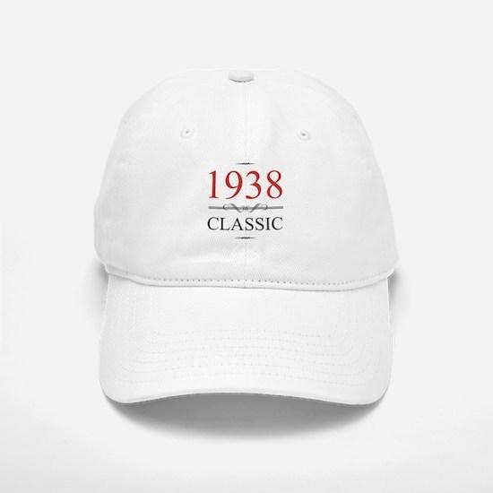 1938 Classic Birthday Baseball Baseball Cap