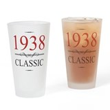 80 year olds Drinking Glass