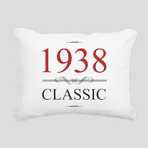 1938 Classic Birthday Rectangular Canvas Pillow