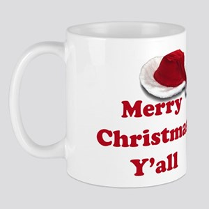 Merry Christmas Y'all Mug