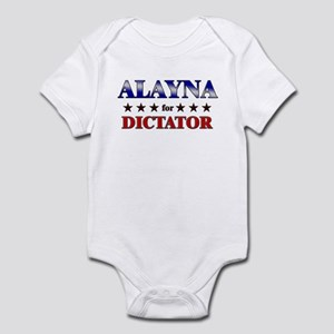 ALAYNA for dictator Infant Bodysuit